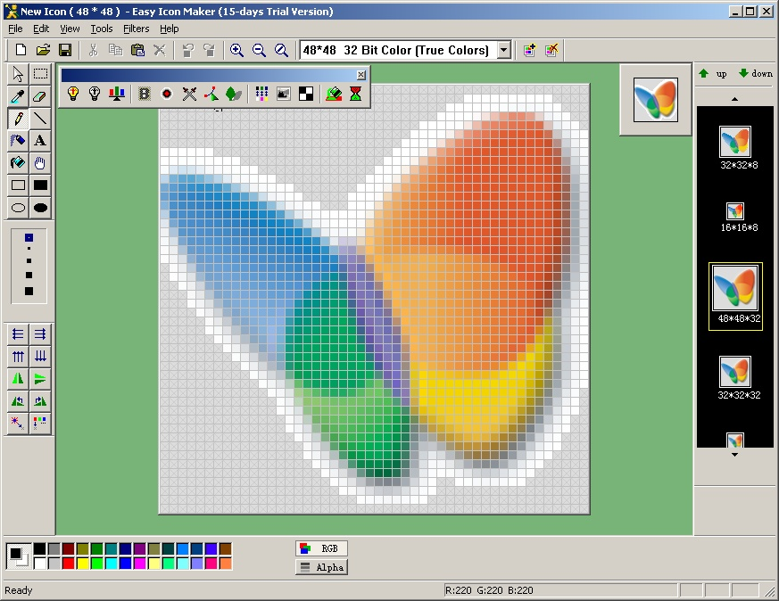 Easy Icon Maker Software , icon creator , icon changer , icon ...